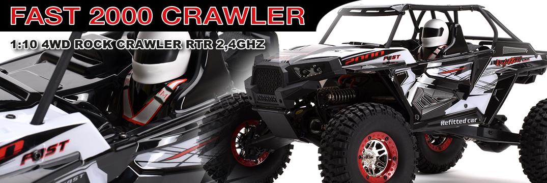 Ripmax  FAST 2000 1:10 4WD Rock Crawler RTR 2,4GHz