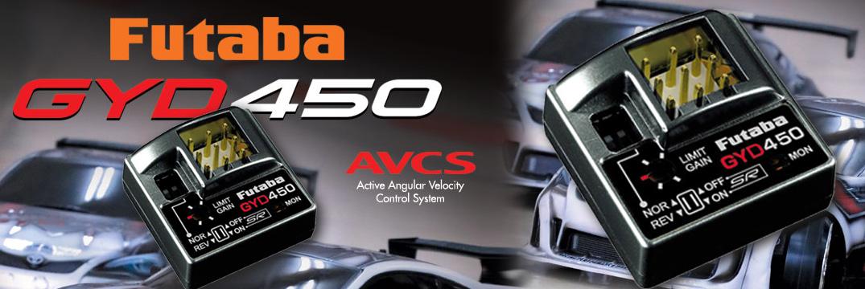 FUTABA Car-Driftkreisel GYD450
