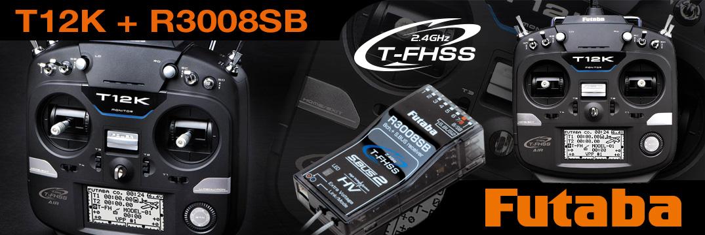 FUTABA T12K 2.4GHz + R3008SB M2