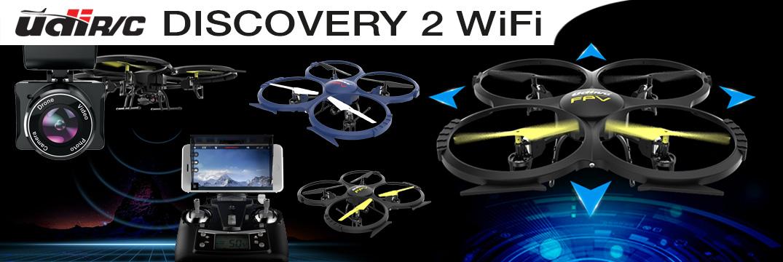 UDI Discovery 2 WiFi mit HD-Kamera