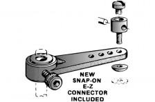 31,7mm Nylon Lenkhebelset f. 4mm Fahrw.