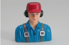 Zivil Pilot (1:6 Blau)