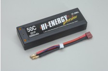 Hi-Energy 2S 5000mAh 50C Car Li-Po
