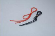 3,3qmm Sil Kabel rot/schw 2x 1m