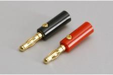 Gold Jack Stecker 4.0mm (Pr) Schr.