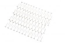 vernickelte T-Pins 0,9 x 32mm (100 Stk)