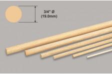 Balsa Stab - 19,0x914mm