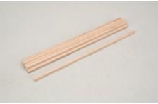 Vierkantholz Buche 6,35x6,35x305mm