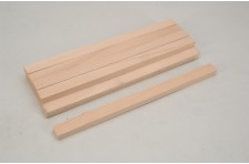 Vierkantholz Buche 12,7x19,0x305mm