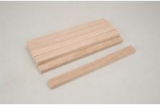 Vierkantholz Buche12,7x25,4x305mm