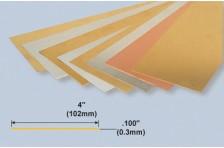 Messingplatte 0,3x102x254mm