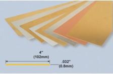 Messingplatte 0,8x102x254mm