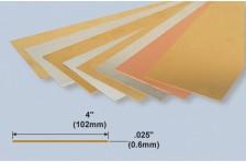 Kupferplatte 0,6x102x254mm