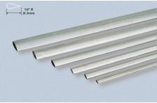 Alu stromlinien Rohr 6,35x889mm; 0,4mm Wandst.