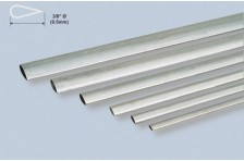 Alu stromlinien Rohr 9,52x889mm; 0,4mm Wandst.