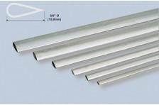Alu stromlinien Rohr 15,9x889mm; 0,4mm Wandst.