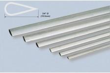 Alu stromlinien Rohr 19,0x889mm; 0,4mm Wandst.