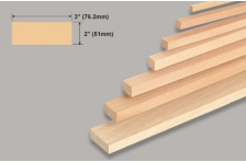 Balsa Block 51,0x76,2x914mm