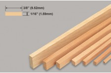 Balsa Leiste 1,59x9,52x914mm