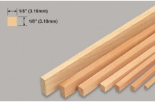 Balsa Leiste 3,18x3,18x914mm