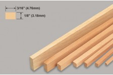 Balsa Leiste 3,18x4,76x914mm