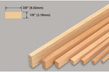 Balsa Leiste 3,18x9,52x914mm