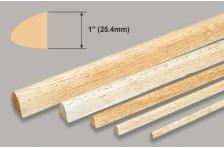 Balsa Nasenleiste 25,4x914mm