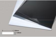 PVC Platte weiß 1,50x228x330mm