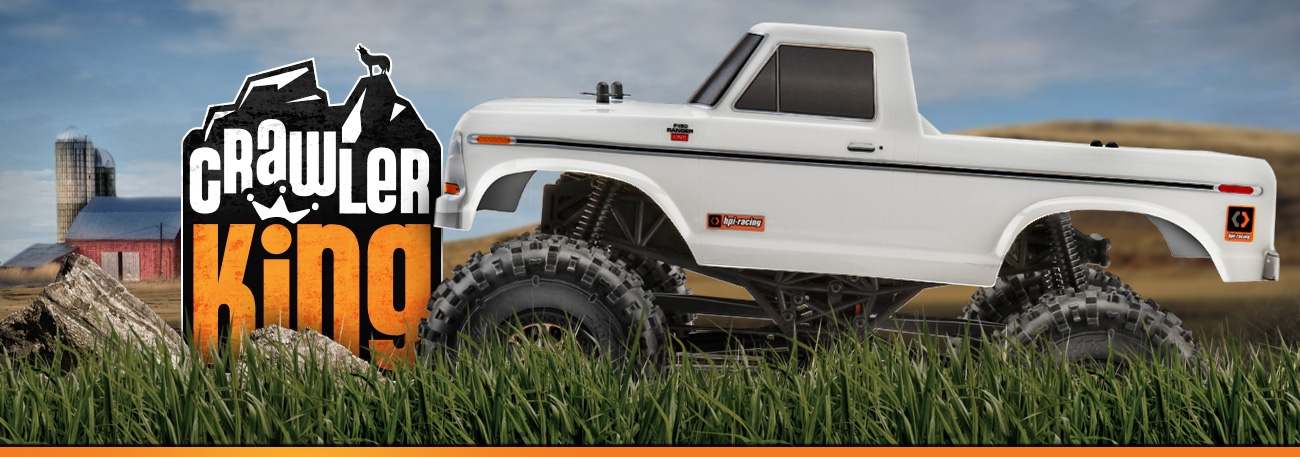 HPI CRAWLER KING 1979 FORD F150