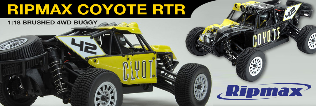 Ripmax Coyote Brushed  4WD Buggy RTR 1:18 2,4GHz