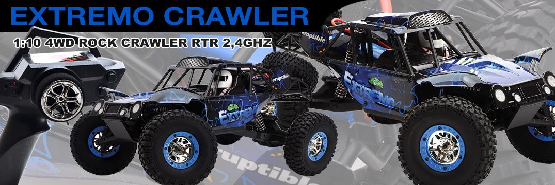 Ripmax  Extremo 1:10 4WD Rock Crawler RTR 2,4GHz