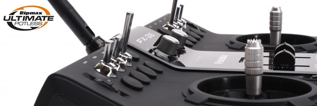 FUTABA FX36 Potless Ultimate + R7008SB + LiPo + Lader