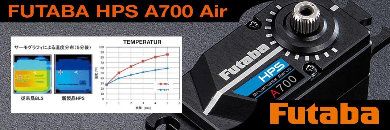 FUTABA HPS A700 Air 0,12s/74,0kg