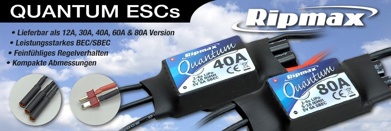 Ripmax Quantum 40A SBEC BL-Regler