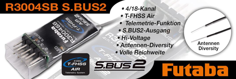 FUTABA R3004SB 2,4 GHz T-FHSS