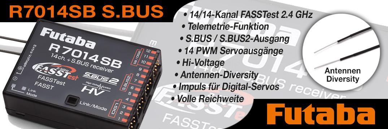FUTABA R7014SB 2,4 GHz FASST/FASSTest