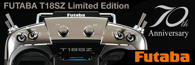 FUTABA T18SZ 70th 2.4GHz + R7008SB M2