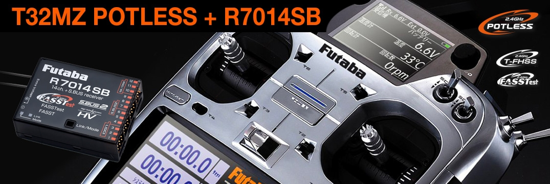 FUTABA T32MZ 2.4GHz + R7014SB