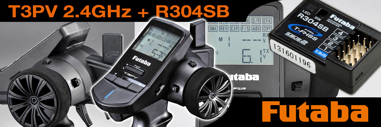 FUTABA T3PV mit R304SB (mit Telemetrie)