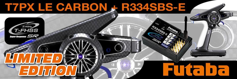 FUTABA T7PX-LE Carbon 2.4GHz + R334SBS-E
