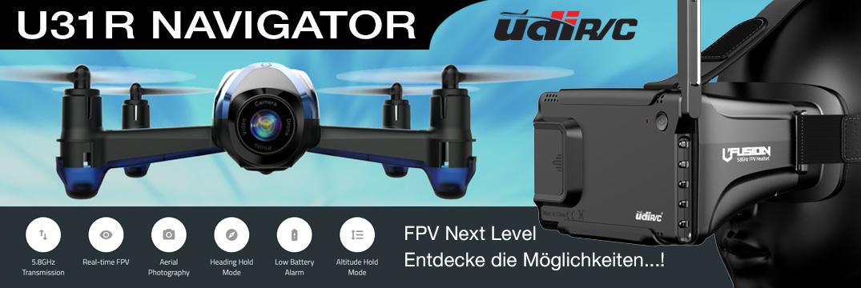 Udi FPV Racing Drohne 5,8GHz