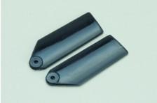Plastik Heckrotorblätter 35mm-Schwarz