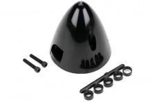 57mm Spinner, schwarz