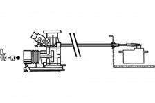 Gaszug-Set