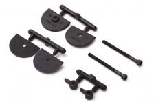 Micro einstellbare Ruderhörner 25mm (2 Stk)