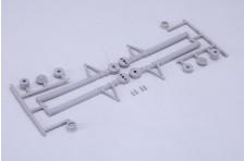Scale Hauptfahrwerksabdeckungen - 40er Größe
