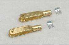 Sullivan 4-40 Gabelkopf Gold (2 Stk=1VE)