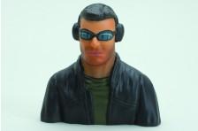 Slimline 'Curt' Pilotenfigur