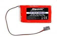 Ripmax 2S 2800mAh TX Li-Po (f. Futaba)