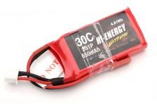 Hi-Energy 2S 650mAh 30C Lipo